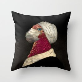 A Chicken with a Mask Special Edition For March 2020  Throw Pillow