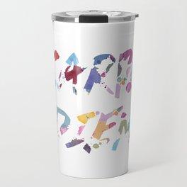 Carpe Diem Color Ink Travel Mug