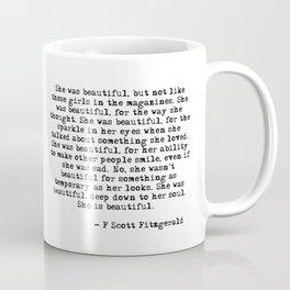 She was beautiful Coffee Mug