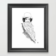 alex today Framed Art Print