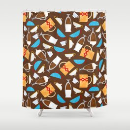 Cup of coffe? Shower Curtain