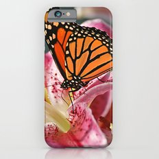 Monarch Butterfly on a Stargazer Lily Slim Case iPhone 6s