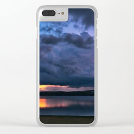 Beach Laconia NH Clear iPhone Case