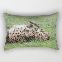 Cheetahs don't always run Rectangular Pillow