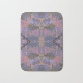Abstract mosaic panel Bath Mat