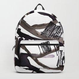 haiku ink illustration - Experiment Backpack