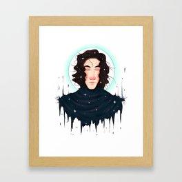Born of Stars Framed Art Print