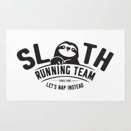 Sloth Running Team Rug