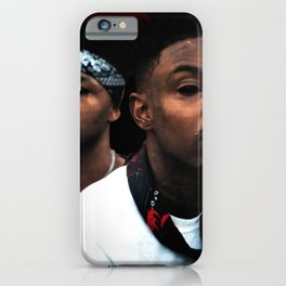 21 Savage Shéyaa Bin Abraham-Joseph ATL - Bank Account - Hip Hop - Trap - Rap - Drill - S6 - Issa 43 iPhone Case
