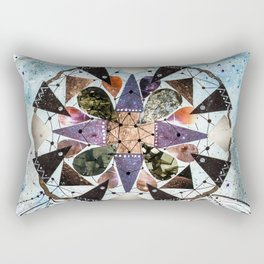 Dream Catcher Mandala Rectangular Pillow