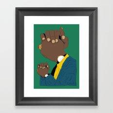 Knuckle Head I - George Framed Art Print