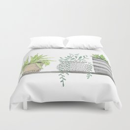 Plants 2 Duvet Cover