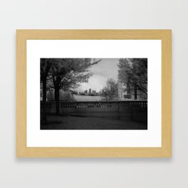 Hatching the Gate Framed Art Print