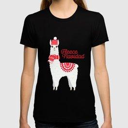 Fleece Navidad Alpaca T-shirt