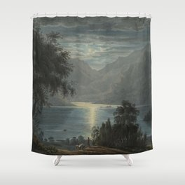 Upper Part of Ulswater from Lyulph's Tower by Harriet Cheney Shower Curtain