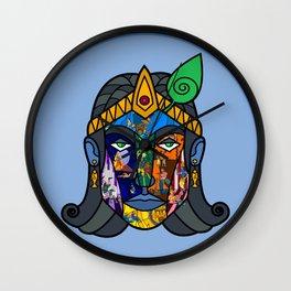 Prince Krishna Color Wall Clock