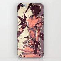 dragon age iPhone & iPod Skins featuring Dragon Age: Marian Hawke by Sara Cuervo