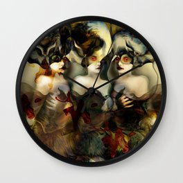 """Hydra (or The Bitch)"" Wall Clock"