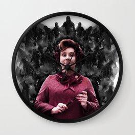 Prof Dolores Umbridge & Dementors Wall Clock