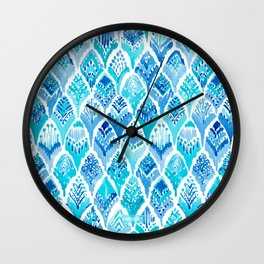 MAGICAL MERBIRD Mermaid Feather Print Wall Clock