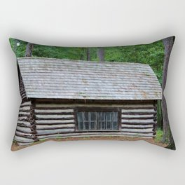 Log Cabin Rectangular Pillow