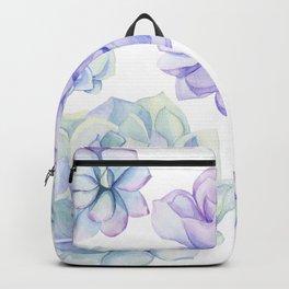 Pastel Echeveria #society6 #buyart Backpack