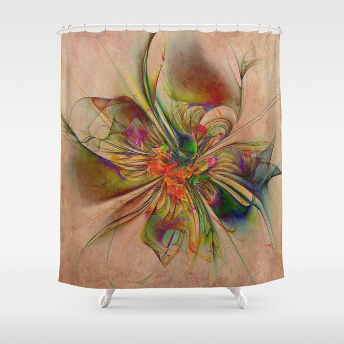 Exotic Shower Curtain By Klaraacel