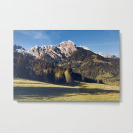 Austrian Mountains Metal Print