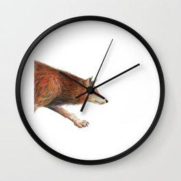 Wolf Wall Clock