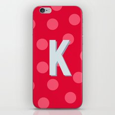 K is for Kindness iPhone & iPod Skin