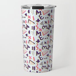 Horrible Patterns ~ Squared 80s Travel Mug