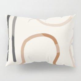 Minimal Abstrac Line Shapes 2 Pillow Sham