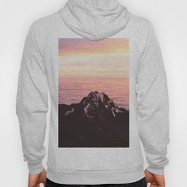 Mountain sunrise - A dreamy landscape Hoody