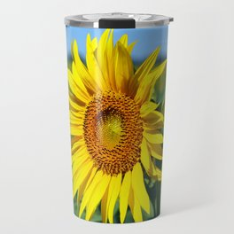 Summer Sunflowers Travel Mug
