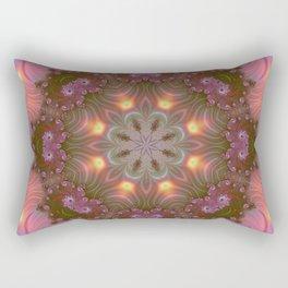 Fractal kaleidoscope, mandala  1 Rectangular Pillow
