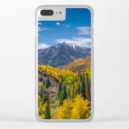 Autumn Views Clear iPhone Case