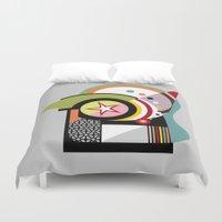 bauhaus Duvet Covers featuring Bauhaus II by Lanre Studio