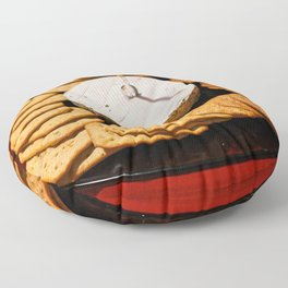 Cheese and Crackers Floor Pillow