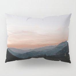 Mountain Sunset Pillow Sham