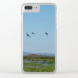 Is time to fly Clear iPhone Case