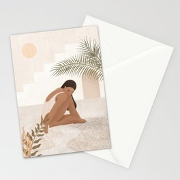 Be Patient and Trust the Process Stationery Cards