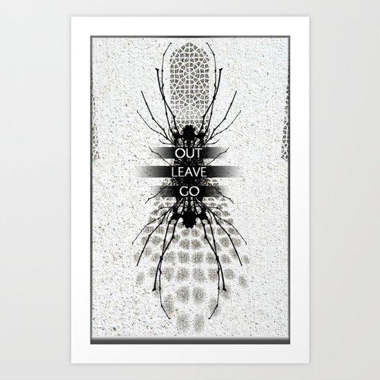 alienate Art Print