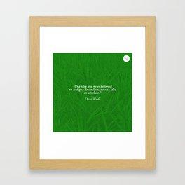 Dangerous Ideas Framed Art Print