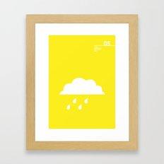 05_Webdings_DB Framed Art Print