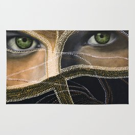 emerald eyes Rug