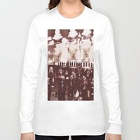 it crowd Long Sleeve T-shirts featuring Crowd by YM_Art by Yv✿n / aka Yanieck Mariani