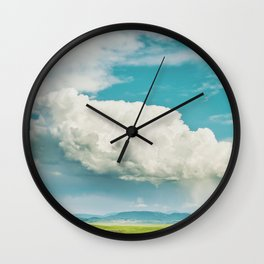 Happy Accidents Wall Clock