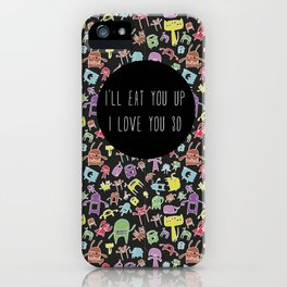 Little monsters iPhone Case