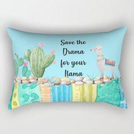 Save the Drama Rectangular Pillow