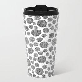 hand-drawn pattern no 17 Metal Travel Mug
